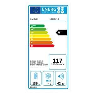 Eficiencia energética nevera retro
