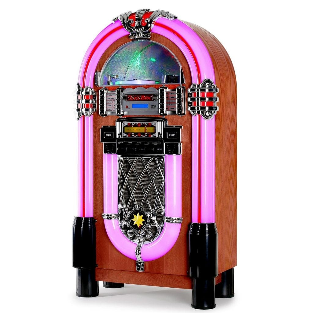 Jukebox vintage Auna Graceland XXL.Violeta.