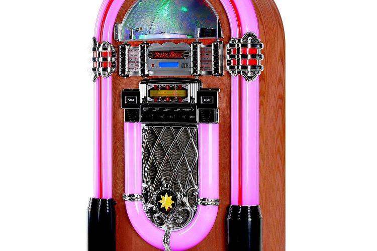 Jukebox vintage Auna Graceland XXL.Violeta.