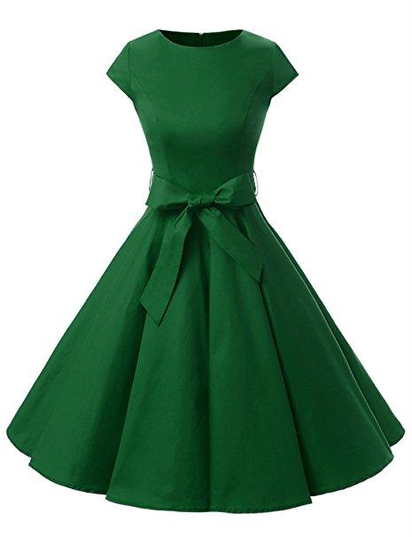 Vestido mujer retro vintage