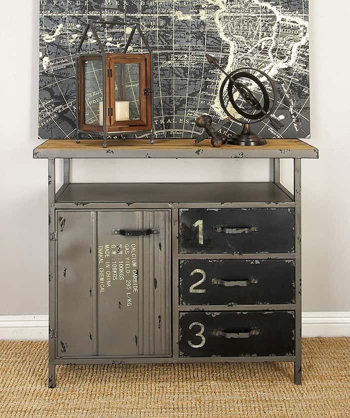 Aparador vintage industrial