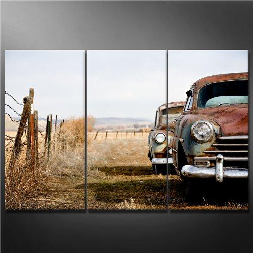 Cuadros con vehículos antiguos