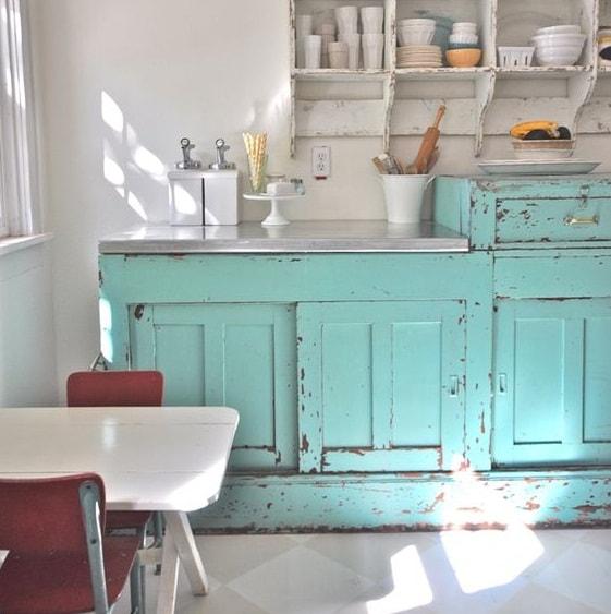 Ideas para decorar tu cocina vintage