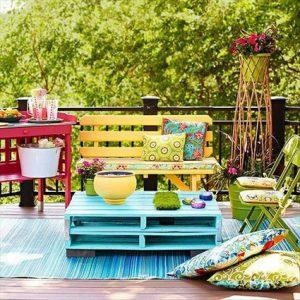 Palets online para decoración