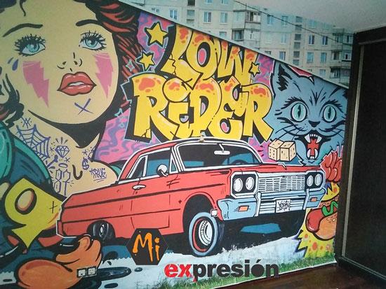 murales y vinilos vintage