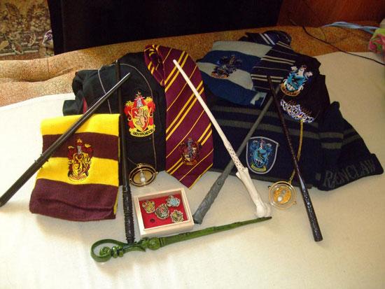 merchandising de harry Potter