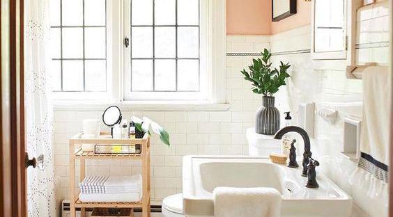 ideas de baños con estilo retro