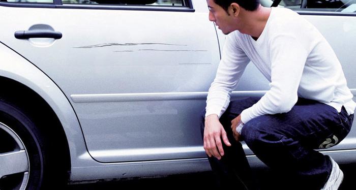 Reparador de arañazos para coche